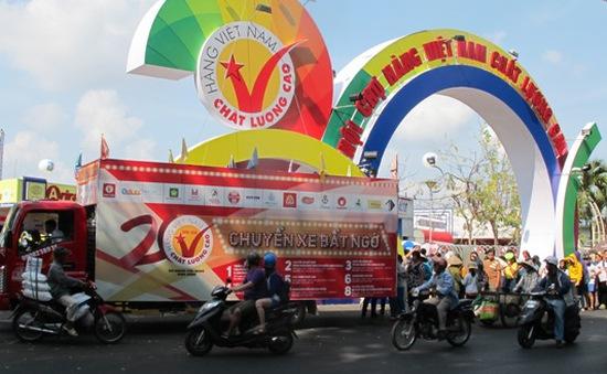 Nhiều cơ hội mua hàng tại hội chợ Hàng Việt Nam chất lượng cao ở TP.HCM