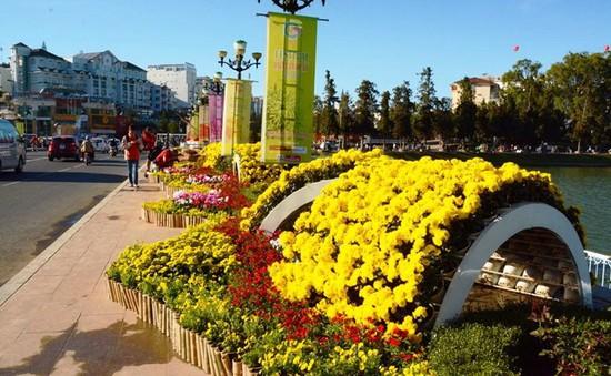 Hôm nay (23/12), Festival Hoa Đà Lạt chính thức khai mạc