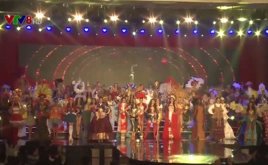 Ấn tượng trang phục truyền thống tại Cuộc thi hoa hậu hòa bình thế giới 2017