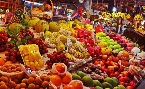 7 tháng người Việt chi 15.000 tỷ đồng nhập khẩu hoa quả