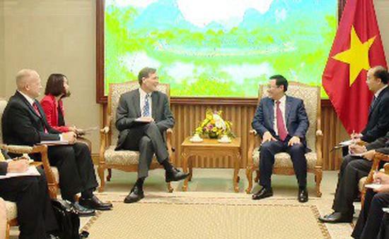 Tăng cường hợp tác với cơ quan phát triển quốc tế Hoa Kỳ