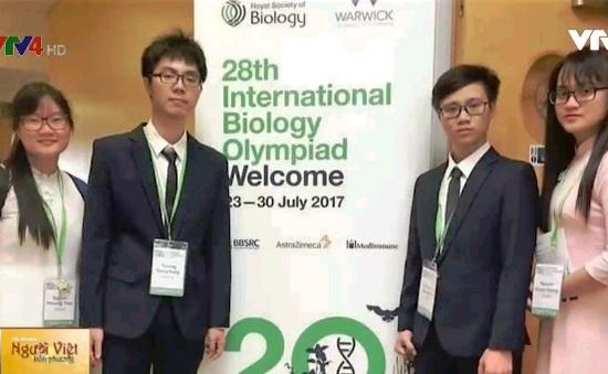 Olympic Sinh học quốc tế 2017, đoàn Việt Nam đoạt thành tích cao
