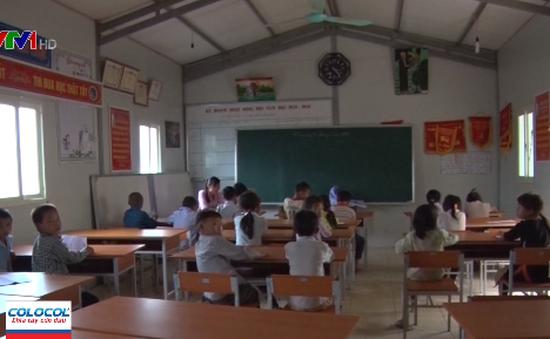 Lai Châu gian nan huy động học sinh tựu trường mùa mưa lũ