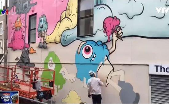 Lễ hội Graffiti và nghệ thuật đường phố lớn nhất châu Âu