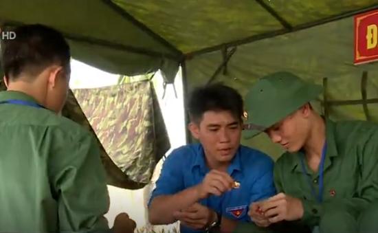 Nhiều hoạt động trong Hội trại tòng quân 2017