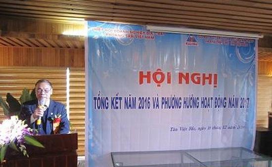 Hội nghị tổng kết năm 2016 và triển khai nhiệm vụ năm 2017 của HHDN Địa chất và Khoáng sản Việt Nam