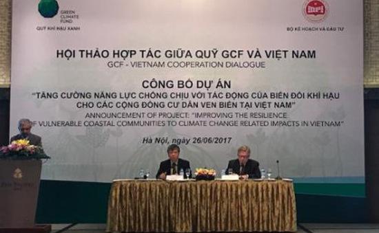 Quỹ khí hậu xanh công bố dự án đầu tiên tại Việt Nam