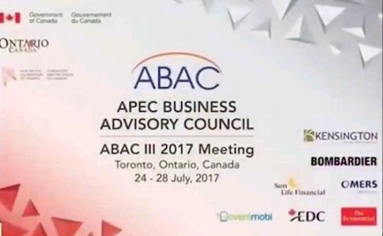 Việt Nam đóng góp tích cực tại Hội nghị ABAC III ở Canada