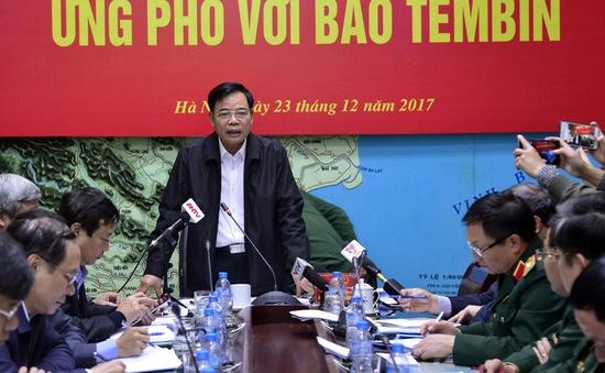 Các tỉnh thành chủ động ứng phó hiệu quả, kịp thời với bão Tembin