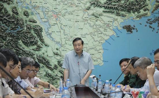 Họp triển khai ứng phó với thiên tai khu vực Đồng bằng sông Cửu Long