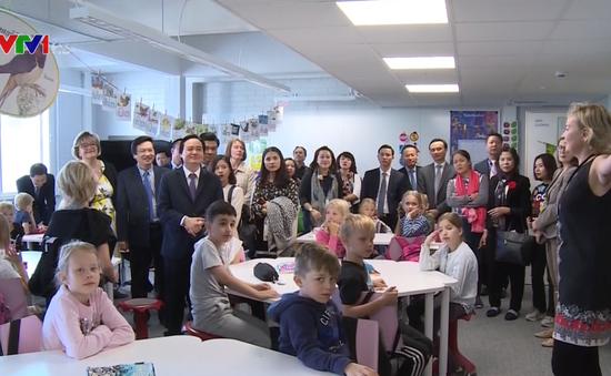 Bộ GD&ĐT xúc tiến hợp tác giáo dục tại Bắc Âu