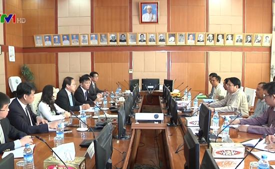 Đẩy mạnh hợp tác truyền thông Việt Nam - Myanmar