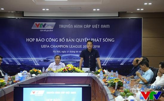 VTVcab ngừng phát sóng Champions League và Europa League tại Việt Nam