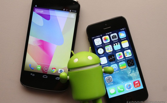 """Khác biệt """"khó đỡ"""" giữa người dùng iPhone và smartphone Android"""