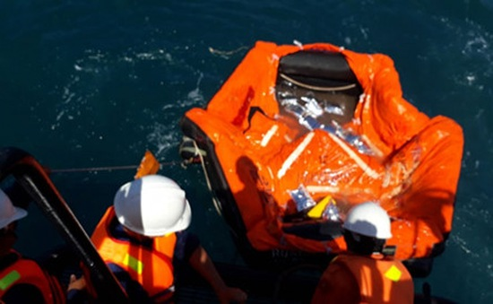 Đã xác định được vị trí tàu Hải Thành 26-BLC chìm