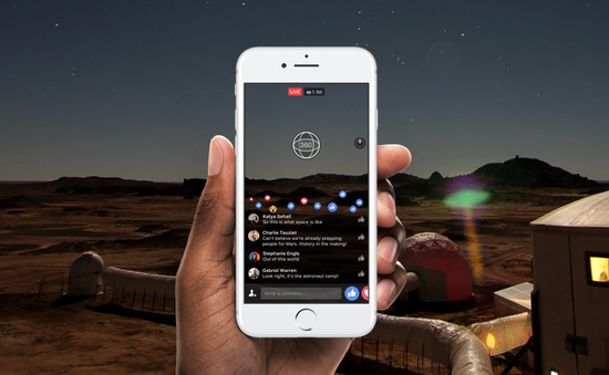 Facebook Live 360: Nhiều tính năng mới, độ phân giải 4K và hỗ trợ VR
