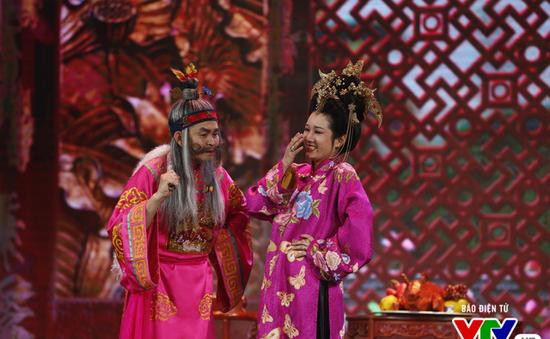 """""""Cười không nhặt được mồm"""" với ông Tơ bà Nguyệt - Xuân Hinh, Thanh Thanh Hiền"""