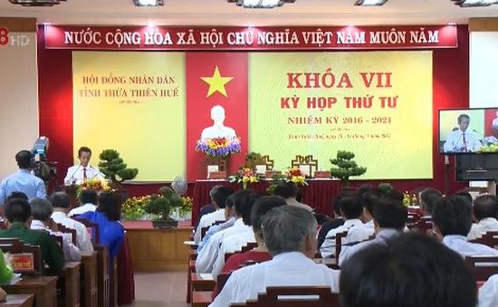 Kỳ họp thứ 4 HĐND tỉnh TT-Huế khóa VII: Bàn giải pháp thúc đẩy phát triển KT-XH