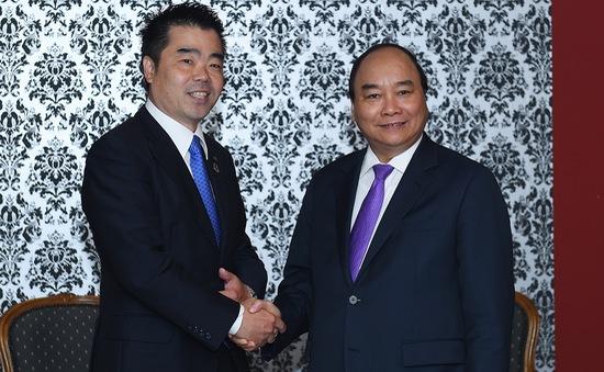 Thủ tướng tiếp Thống đốc tỉnh Shiga