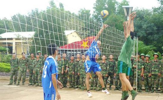 Bóng chuyền, môn thể thao yêu thích trong quân đội