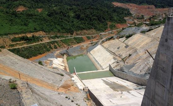 Chưa khắc phục xong sự cố hầm dẫn dòng thủy điện Sông Bung 2