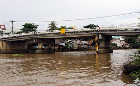 Mực nước sông Cửu Long tiếp tục lên nhanh