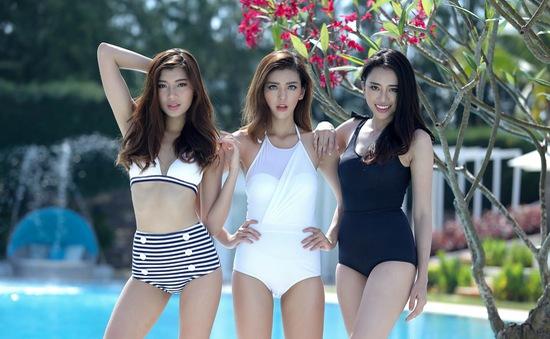Dàn thí sinh The Face nóng bỏng trong MV của Bảo Thy
