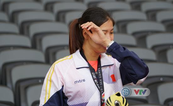 SEA Games 29: Việt Anh khóc vì phải chia sẻ chức vô địch