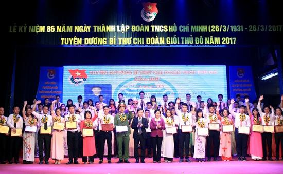 Hà Nội tuyên dương 100 Bí thư Chi đoàn giỏi Thủ đô