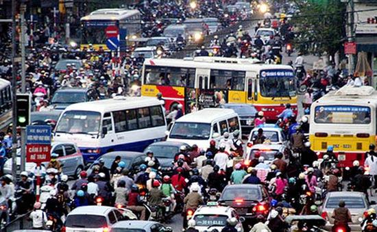 INFOGRAPHIC: Hiện trạng phương tiện giao thông ở thủ đô Hà Nội