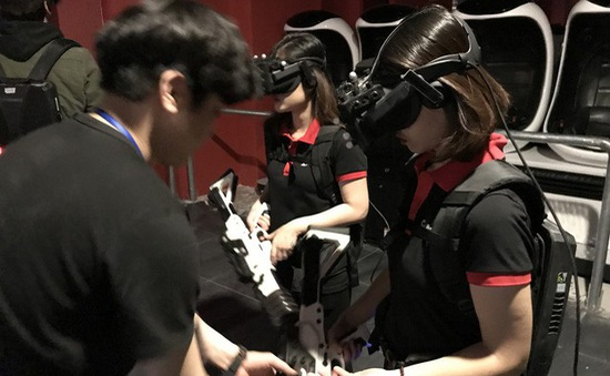 Ra mắt khu thực tế ảo Hàn Quốc tại Hà Nội