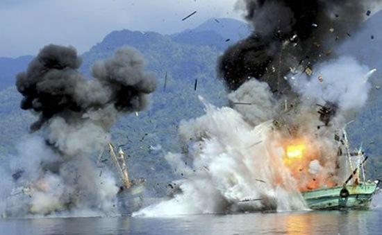 Indonesia mạnh tay xử lý tàu cá nước ngoài vi phạm