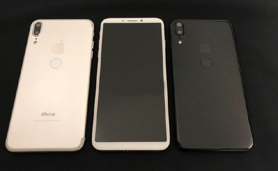 Lộ ảnh thực tế iPhone 8 với 4 phiên bản màu sắc