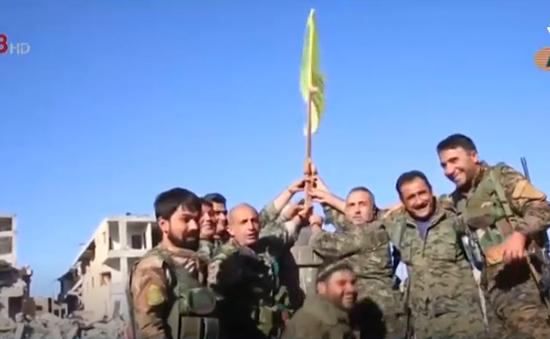 Lực lượng do Mỹ hậu thuẫn giải phóng Raqqa khỏi IS