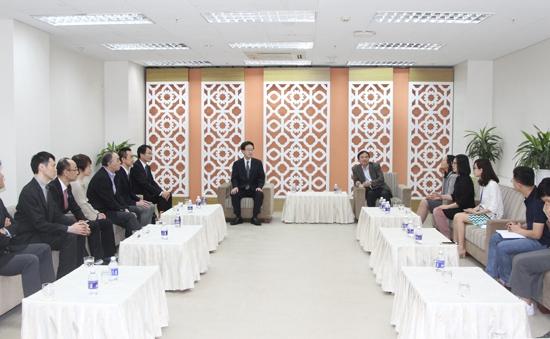 Phó TGĐ Phạm Việt Tiến tiếp đoàn Công ty JIB (Nhật Bản)