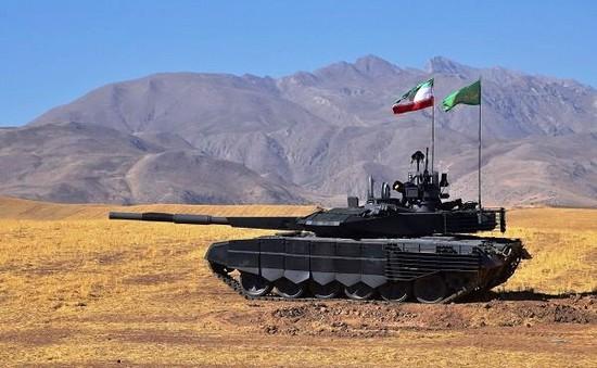 Iran giới thiệu xe tăng mới
