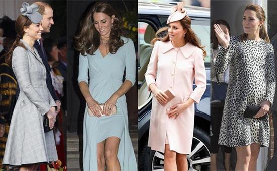 Phong cách thời trang bầu của Công nương Kate Middleton