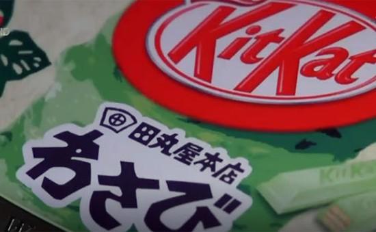 Phiên bản kẹo Kit Kat hương vị thuốc ho có tại Nhật Bản