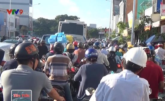 Kẹt xe nghiêm trọng sau kỳ nghỉ lễ Quốc khánh tại TP.HCM
