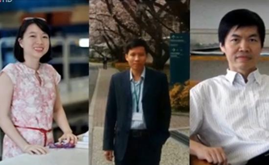 Ba nhà khoa học Việt có công trình trên tạp chí vật lý hạng nhất quốc tế