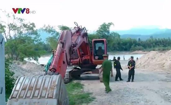 Khánh Hòa triệt phá nhiều điểm khai thác cát trái phép