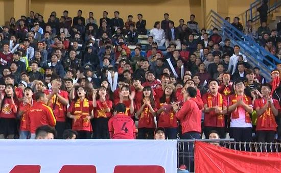 Không khí náo nhiệt trong trận giao hữu của U23 Việt Nam