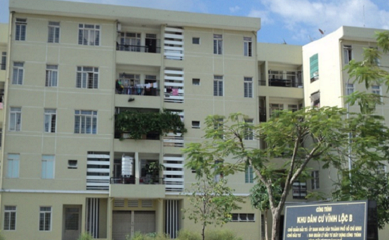 Khu tái định cư Vĩnh Lộc B ở TP.HCM ngày càng xuống cấp