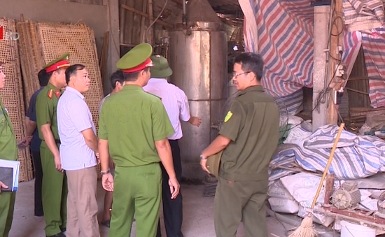Hà Nội: Kiểm tra đột xuất công tác PCCC tại một số làng nghề
