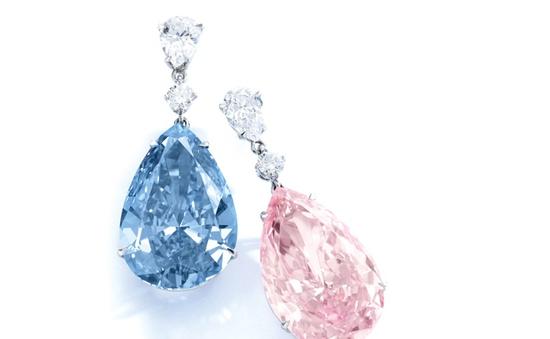 Triển lãm các loại kim cương siêu quý hiếm tại Thụy Sĩ