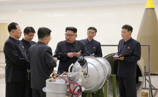 Triều Tiên tuyên bố sản xuất đầu đạn tên lửa gắn bom H