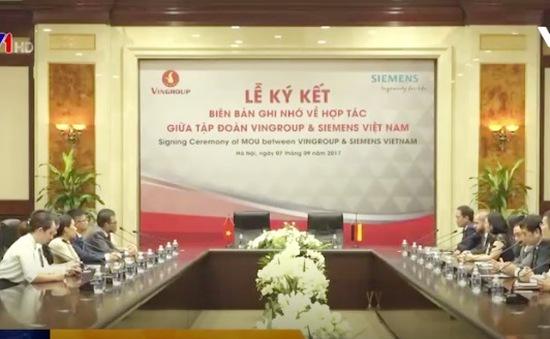 Siemens và Vingroup ký kết hợp tác phát triển công nghệ