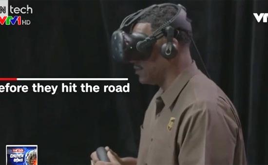UPS huấn luyện tài xế bằng công nghệ thực tế ảo