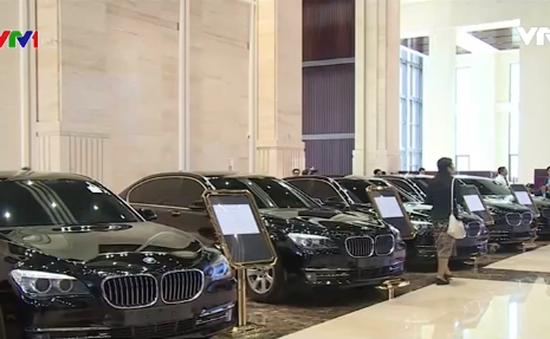 Lào bán đấu giá xe công hạng sang của lãnh đạo cấp cao