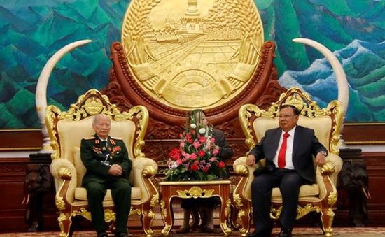 Lào đánh giá cao sự giúp đỡ của quân tình nguyện Việt Nam